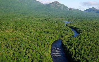 An early review of thousands of comments shows Maine residents overwhelmingly support maintaining the status of the Katahdin Woods and Waters National Monument. (TR Kelley/Wikimedia Commons)