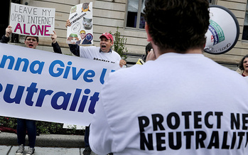 The FCC is accepting public comments on its plan to overturn net-neutrality protections through July 17. (Chip Somodevilla/Getty Images)