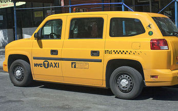 Half of all yellow-medallion taxis in New York City must be wheelchair accessible by 2020. (Mr.choppers/Wikimedia Commons)