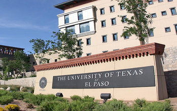 La Universidad de Texas en El Paso es uno de los nueve campus del Sistema de la Universidad de Texas (University of Texas System)