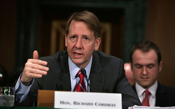 Richard Cordray, director of the Consumer Financial Protection Bureau, announced a rule this week banning forced-arbitration clauses. (Alex Wong/Getty Images)