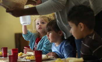 There are no income or registration requirements for Colorado's Summer Meals program, so kids can just show up and eat. (Getty Images)