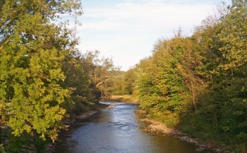 The Delaware River provides drinking water to more than 17 million people. (Daniel Case/Wikimedia Commons)