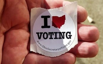 Could the federal Election Integrity Commission affect voter participation if people start seeing voting as a privacy risk? (Tim Evanson/Flickr)<br />