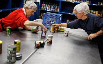 Seniors, children and people with disabilities receive almost 70 percent of food stamp benefits. (Getty Images)