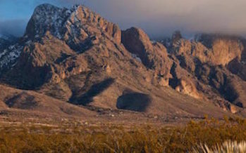 The Organ Mountains-Desert Peaks National Monument gets a personal visit on Friday from U.S. Interior Secretary Ryan Zinke. (Bureau of Land Management)