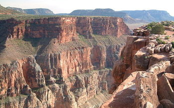 Grand Canyon Parashant National Monument's pristine cliffs are notable for their fossils and human relics. (Bureau of Land Management)