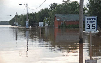 Nationally, more than 5,000 schools are in ZIP codes with areas designated as high-risk flood zones. (Marvin Nauman/FEMA)
