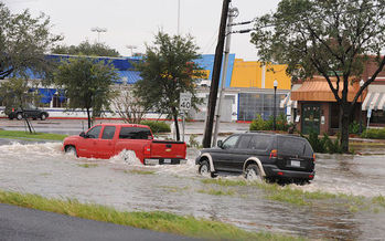 The report found schools in every state across the country face flood risks. (Jocelyn Augustino/FEMA)