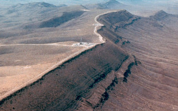 The EPA safety standard calls for the proposed Yucca Mountain Nuclear Waste Depository to verify it will protect against radiation for one million years. (State of Nevada)