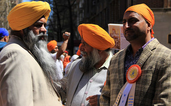 There are about 500,000 Sikhs in the United States. (Michela Simoncini/Flickr)