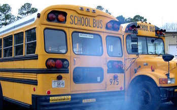 Cleaner school buses could improve the state's air pollution levels, but will New Mexico opt to spend its share of the Volkswagen emissions settlement to support that goal? (Children's Clean Air Network)