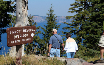 Lifetime senior passes get folks age 62 and older into places such as Crater Lake National Park at a discount. (Andy Melton/Flickr)