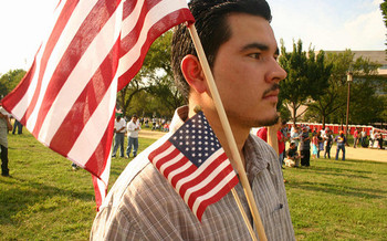 Immigration advocates say DREAMers are in every way Americans apart from the paperwork. (Elvert Barnes/Flickr)