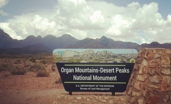 A highly anticipated announcement last week did not shed any light on whether New Mexico's Organ Mountains-Desert Peaks National Monument will be altered by the U.S. Interior Department.  (Northwest Progressive Institute)