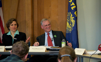 U.S. Reps. Suzanne Bonamici and Earl Blumenauer, both D-Ore., are members of the Climate Solutions Caucus. (Sam Beebe/Flickr)