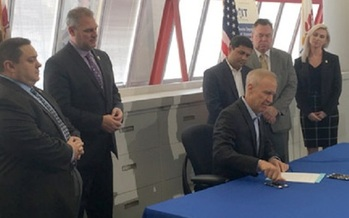 Legislation signed by Gov. Bruce Rauner doesn't go along with President Donald Trump's stance on immigration. (il.gov)