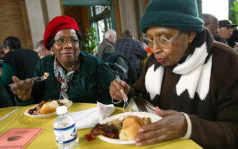 A new study shows that fewer Arkansas seniors are missing meals because they can't afford them. (TimBoyle/GettyImages)