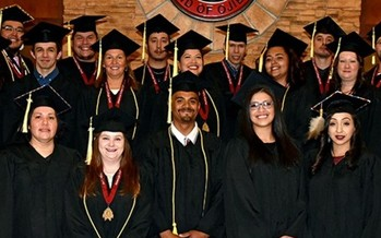 Leech Lake Tribal College ranks among the top community colleges on multiple national lists, including a new one out this month. (Courtesy Leech Lake Tribal College)