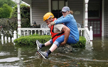 As Texas and Louisiana deal with floodwaters and other devastation from Hurricane Harvey, Bay Staters will have a chance to learn more about extreme weather events. (Army National Guard)