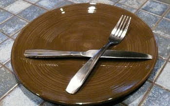 An empty plate and an empty stomach lead to increased health risks. (Greg Stotelmyer)