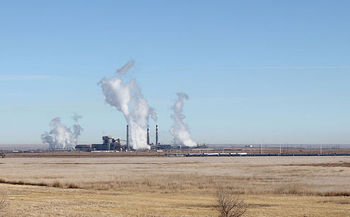 A proposal by Xcel Energy would add more than $2 billion in renewable-energy investments in Colorado, and retire two of three coal-fired plants at the Comanche Generating Station. (Jeffrey Beall/Wikimedia Commons)