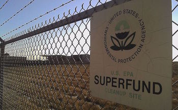 There are 95 Superfund sites in Pennsylvania. President Donald Trump's proposal would cut the cleanup program by 30 percent. (markzvo/Wikimedia Commons)
