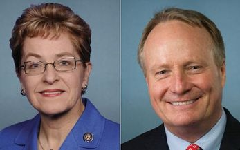 Ohio Democrat Rep. Marcy Kaptur and Republican Rep. David Joyce are on a panel tasked with developing climate-change solutions. (U.S. Congress)