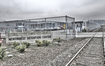 There have been five hunger strikes at Tacoma's Northwest Detention Center this year. (Seattle Globalist/Flickr)