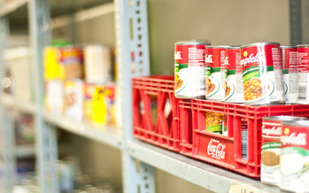 Colleen Moriarty of Hunger Solutions says in the last couple of years, more Minnesotans lean on food shelves toward the end of the month. (Michael Swan/FlickR)
