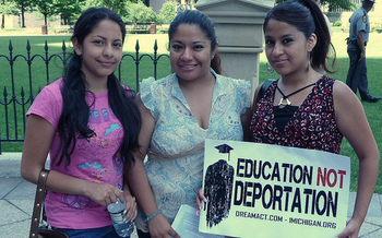 There are an estimated 4,400 DACA recipients studying or working in Ohio. (Progress Ohio/Flickr)