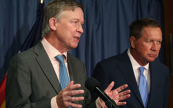 Gov. John Hickenlooper will testify on health care on Thursday before the U.S. Senate Committee on Health, Education, Labor and Pensions. (Getty Images)