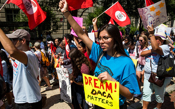 President Obama began the DACA program in 2012. It includes about 12,000 Oregonians. (Zach Gibson/Getty Images)