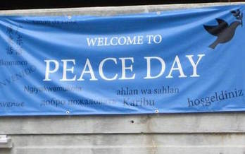 More than 1,000 peace and nonviolence actions will take place globally this week. (Peace Quest Greater Lansing)