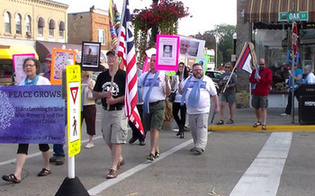 An event in Wisconsin linked to similar ones around the country will begin again this year with a march to the Baraboo Square on Saturday morning. (One Heart, Inc.)