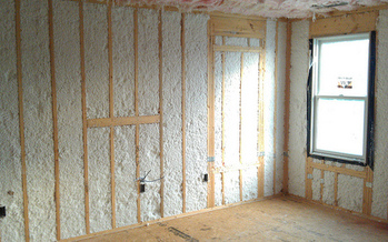 Home weatherization measures such as new insulation can decrease home energy costs by nearly 25 percent. (Jesus Rodriguez/Flickr)
