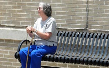 Seating in outdoor areas is one factor communities consider when planning age-friendly amenities. (Pippalou/morguefile)
