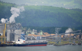 The Millennium Bulk Terminal that was slated to be built in Longview would have shipped up to 44 million tons of coal a year to Asia. (Sam Beebe/Flickr)