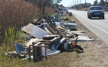 North Carolina continues cleanup after 2016's Hurricane Matthew, while the federal government looks to cut funding for programs that would aid in mitigating a future disaster and putting proper infrastructure in place. (County of Dare/flickr)