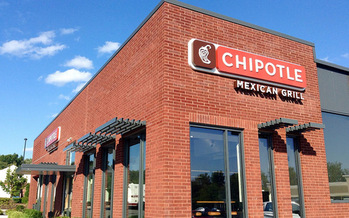 Chipotle is one of only two national chains that earned an