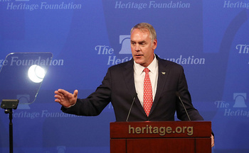 U.S. Interior Secretary Ryan Zinke is working to overturn a rule that aims to save American taxpayers royalties on up to $330 million in wasted natural gas annually. (Getty Images)