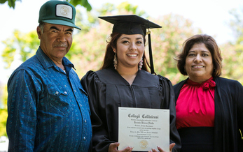 A new study shows that while more Latinos are earning college degrees, they still fall behind white and African American students in educational attainment. (HillStreet/GettyImages)