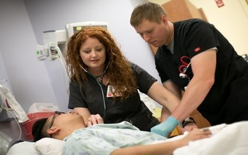 A new program at UW-Madison School of Nursing allows students who already have a bachelor's degree to complete a nursing degree with a full year of additional study. (Lori Kenzen/UW-Madison)