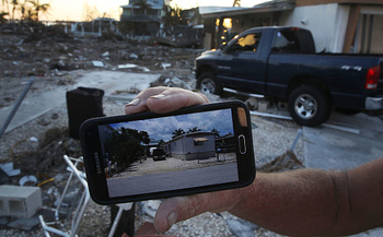 Scientists warn that extreme weather events, such as Hurricane Irma, are likely to become more frequent and powerful as the planet warms. (Getty Images)