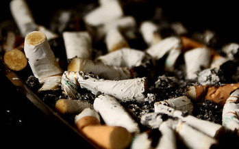 Kentucky's smoking rate is 62 percent higher than the national average. (Chris Vaughn/Flickr)