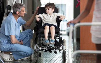 Many Texas children with disabilities and developmental delays have lost access to critical therapy due to budget cuts in the state's Early Childhood Intervention program. (KidStock/GettyImages)