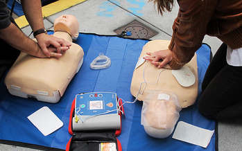 The Cardiac Ready Communities project has four parts, including CPR training and making sure there is public access to AEDs. (Anita Hart/Flickr)