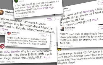Arizona's Senate Bill 1070, also known as the