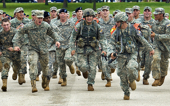Military leaders say in the last decade, it's been harder to recruit soldiers, due to health declines and rising weight among the nation�s youth. (Joenomias/Pixabay)