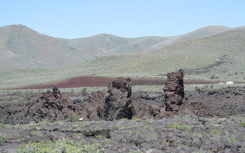 Craters of the Moon was one of the national monuments under review by the Trump administration this year. (Doug Kerr/Flickr)